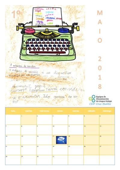 Calendario Maio